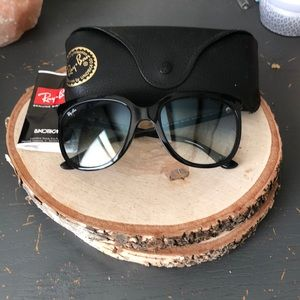Ray ban blue lenses sunglasses